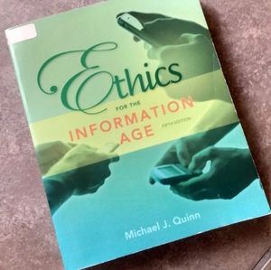 Ethics For The Information Age Textbook